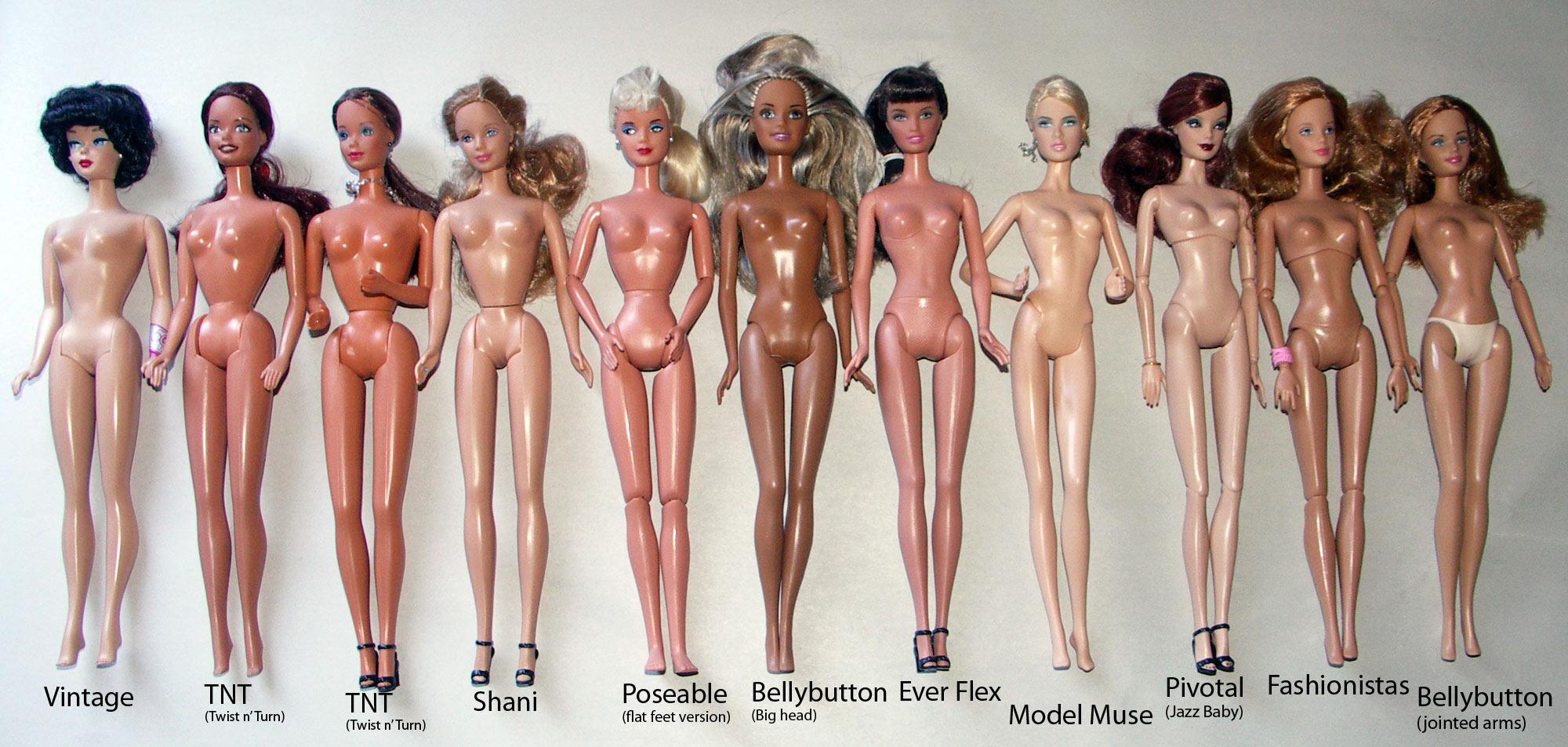 Nude Sexy Teen Barbie