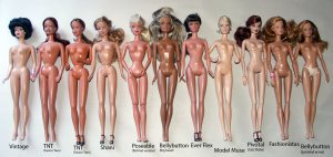 A great blog post outlining the various body types Mattel has used over the years.